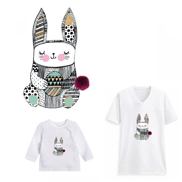 Cat DIY патчи трансферы для семей моющиеся железа на патч наклейки украшения аппликация Parches для родитель-ребенок одежда