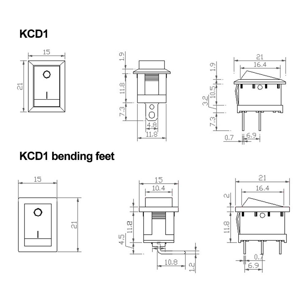 KCD1尺寸图
