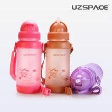 2017 verkauf Uzspace Kinder Student Auslaufsicher Herbst Tragbare Getränk Kind Wassermann Baby 300 ml Umweltfreundliche Tritan (bpa frei)