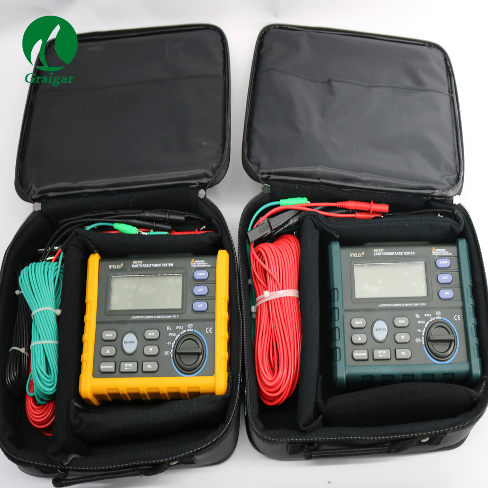 Digital Earth Ground Resistance Tester Meter MS2302 цена