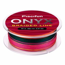 Piscifun Braided Line 300Yds 274M 6-150LB Super Strong PE Braided Fishing Line 4 Strands 8 Strands Multifilament Fishing Line