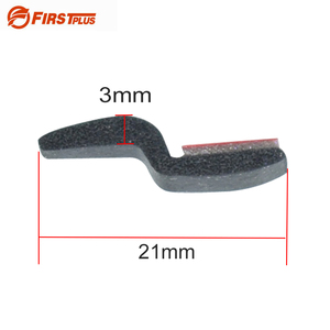 Image 5 - Z Type Car Door Seal Rubber Waterproof Anti dust Sealing Strips Trim For Auto Doors Edge Soundproof With Quality Sticker