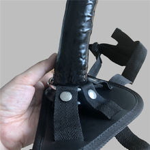 Soft Silicone Strap On with Belt