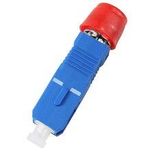 Adaptador óptico de alta calidad 5 piezas FC SC macho hembra adaptador óptico FC SC monomodo híbrido envío gratis