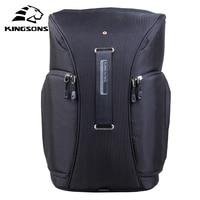 Kingsons 2017 New Camera Video Bag Digital DSLR SLR Backpack W Rain Cover Notebook Backpack 15
