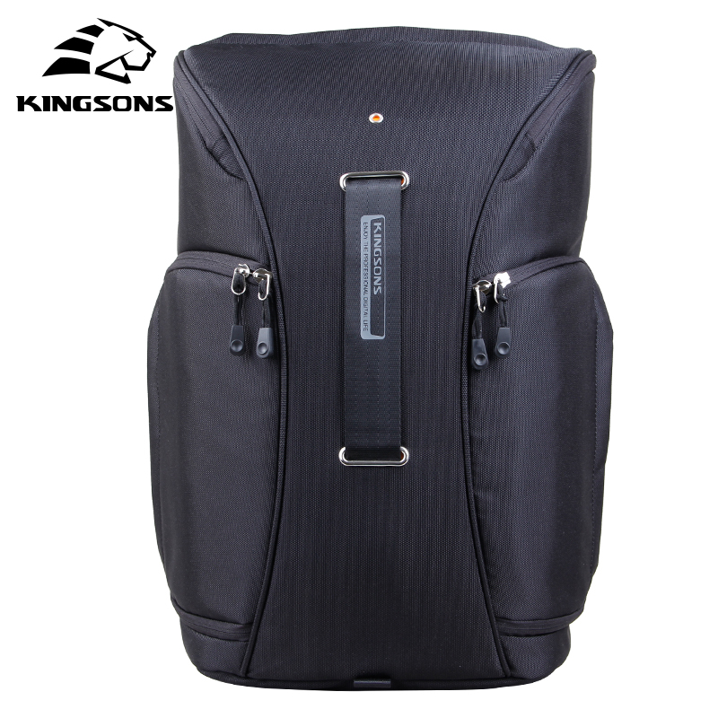 Kingsons 2018 New Camera Video Bag Digital DSLR SLR Backpack w/ Rain Cover Notebook Backpack 15.6 inch Men Women Laptop Bag dslr camera laptop backpack waterproof photo digital dslr camera bag rucksack camera video bag slr camera rain cover li 1632