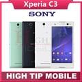 Разблокирована Оригинальный Sony Xperia C3 D2533 S55U 3 Г 4 Г GSM Quad Core Android Dual Sim 8MP Камера 5.5 ''Экран Восстановленное Сотовый телефон