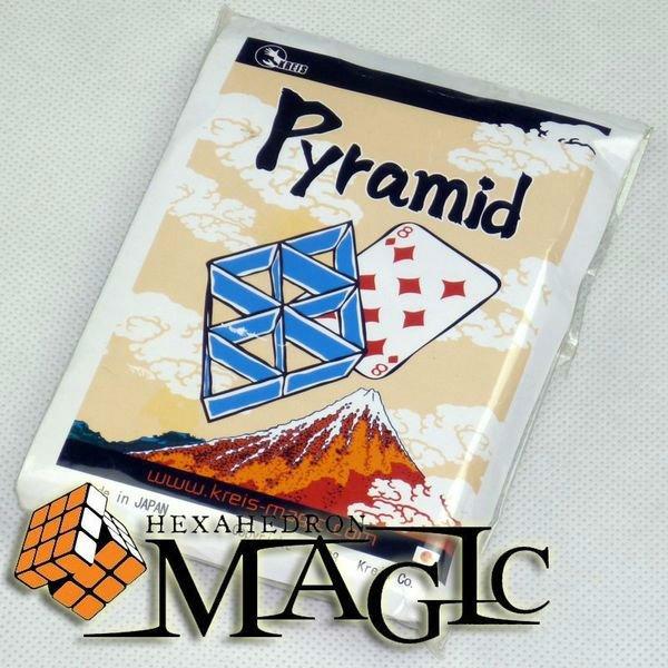 Pyramide par Kreis magie/carte de gros plan tour de magie/vente en gros