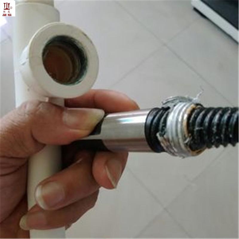 Купить с кэшбэком Plumber Tool Water Pipe Repair Hand Reamer Set Faucet Broken Pipe Extractor Triangle Valve Broken Pipe Broken Wire Extractor