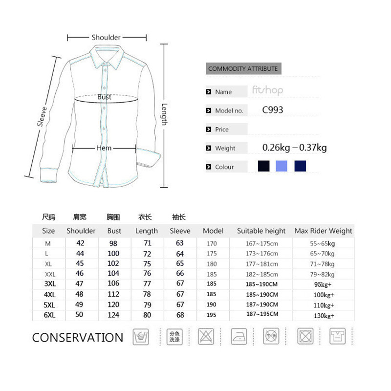 Fashion Mens Denim Shirt Long Sleeve Plus Size Cotton Jeans Cardigan Casual Slim Fit Shirts Men Two-pocket Tops Clothing M-6XL 2