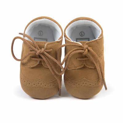 Handmade Bé Đi Bộ Đầu Tiên Bé Moccasin Giày Bé PU Giày Da Prewalkers Boots đối với Trẻ Em