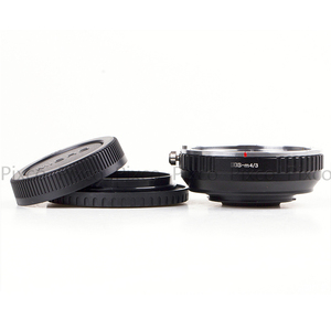 Image 5 - Pixco EOS M 4/3 焦点減速絞り構築キヤノンefマウントレンズマイクロ 4/3 + レンズキャップu クリップ + カメラストラップ