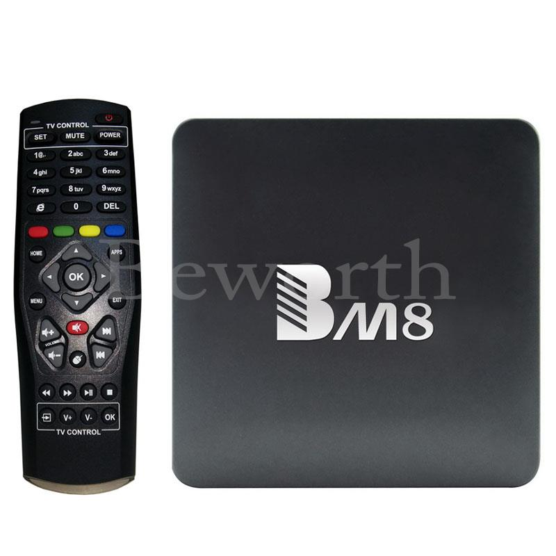 Amlogic S905X Quad Core Android 6.0 Smart TV Box 2GB 32GB 4K H.265 Media Player 2.4G&5G Wifi BT4.0 BM8 Mini PC VS A95X X96 TVbox mk903v rk3288 quad core de android 5 1 smart tv stick mini pc 2g 8g 4k 2k h 265 2 4ghz 5ghz dual wifi otg usb smart tv