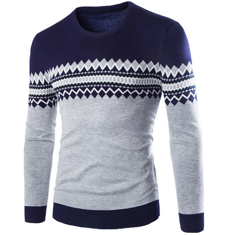 2017 new solid Casual Men Sweater male Brands Sweater Winter Men's Cotton Sweater Jumpers Pullover Sweater Men
