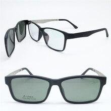 061988369bf0 fast sales 010 ULTEM square shape prescription glasses with megnatic clip  on removable polarized sunglasses lens