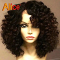 Brazilian Short Lace Front Wigs Human Hair Glueless Short Curly Lace Front Wigs Virgin Human Hair Curly Wig For Black Women