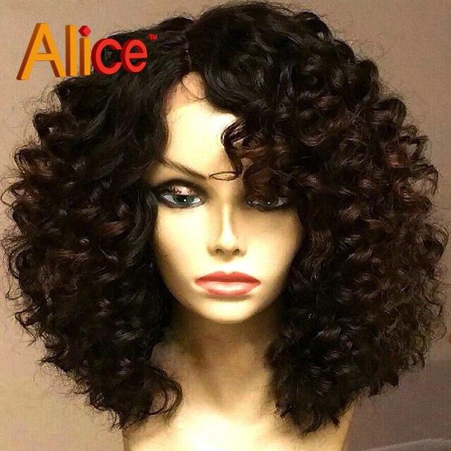Brazilian Short Lace Front Wigs Human Hair