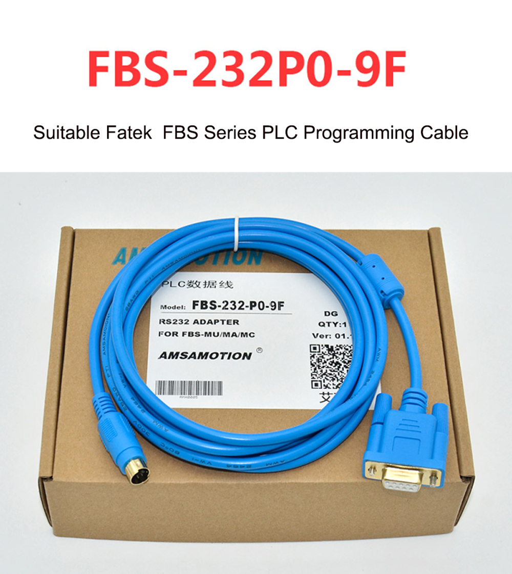 Fbs 232p0 9f Suitable Fatek B1z Series Plc Programming Cable Mitsubishi Usb Sc09 Fx Blue Color Type Serials This Is The Factory Direct Sale If You Need Order Bulk Qty Pls Contact Us Get More Favourable Price