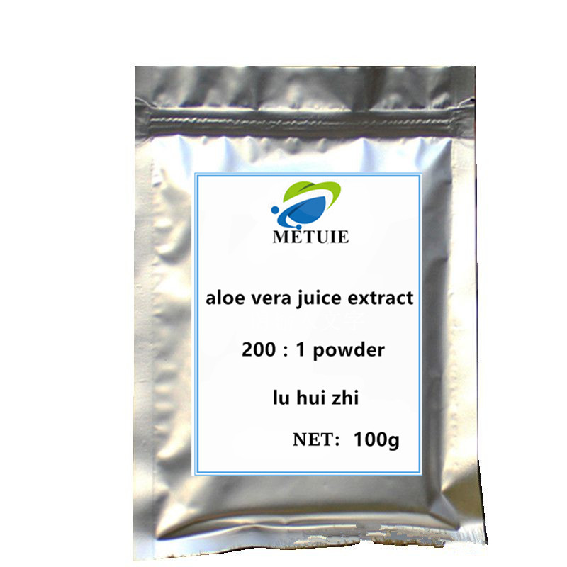 200:1 Aloe Vera Juice Extract Powder Festival Glitters Body Gel Face Skin Whitening Radiation And Making Skin Soft And Elastic
