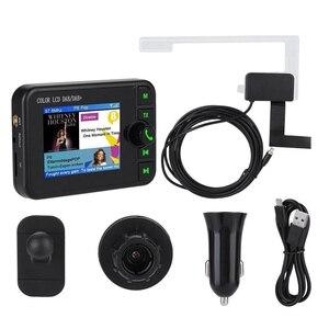 Image 5 - Mini DAB récepteur de Radio numérique Bluetooth MP3 lecteur de musique adaptateur émetteur FM écran LCD coloré pour accessoires de voiture