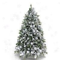 1,5 м/1,8 м/2,1 М/2,4 м Рождественский снег дерево рождественские украшения елки моделирование снег дерево