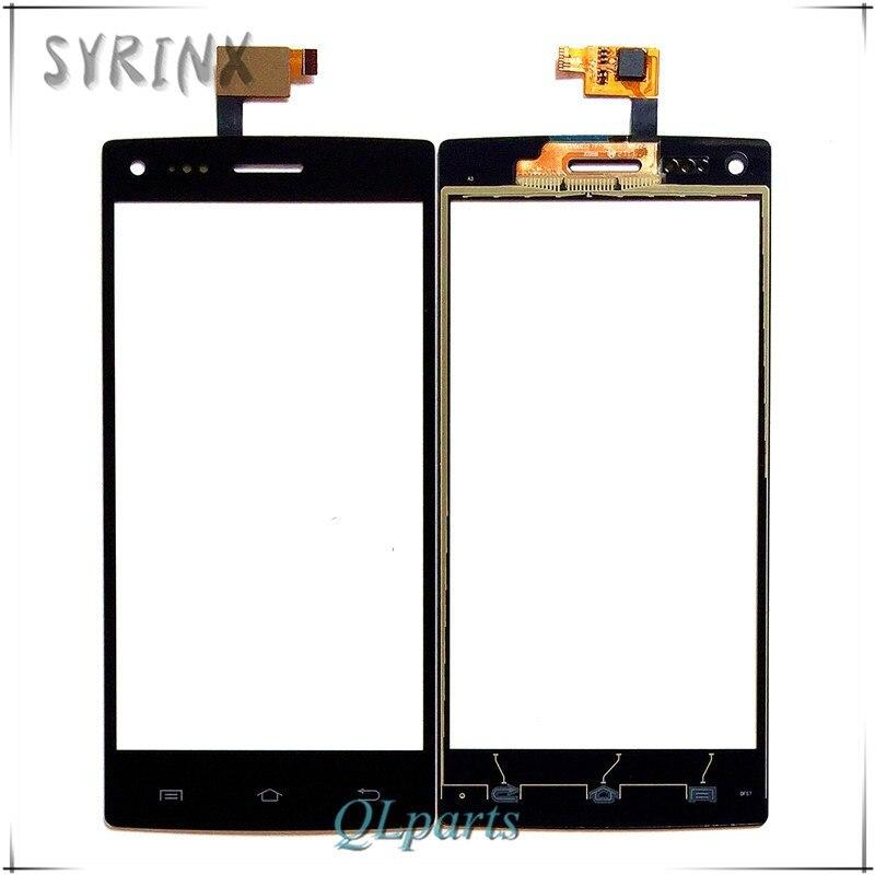 Syrinx Mobile Téléphone Tactile Panneau Pour DNS S5003 S 5003 Écran Tactile Digitizer Lentille En Verre Écran Tactile Remplacement Du Capteur Touchpad