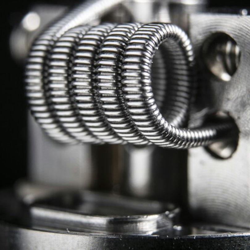 Elektronička cigareta 8 IN 1 Žica Prebuilt Coils Clapton Quad Tiger - Elektronske cigarete - Foto 4