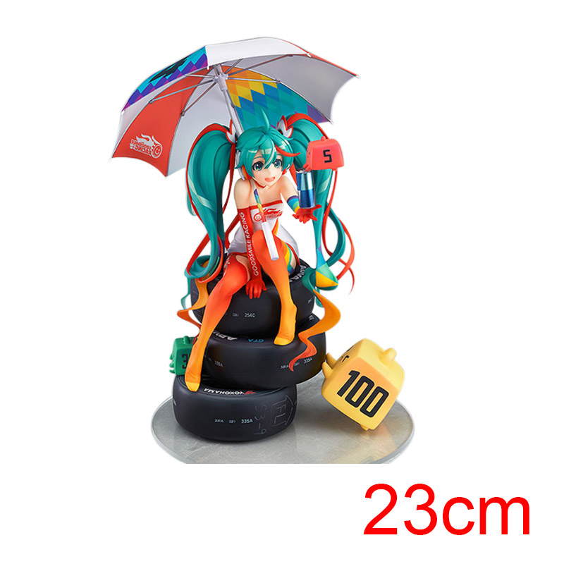 Hatsune Miku Racing Miku 1/8 scale Painted 2016 Second  Ver. Action Figure Racing Miku PVC Toy Brinquedos Collectible Model Toy naruto kakashi hatake action figure sharingan ver kakashi doll pvc action figure collectible model toy 30cm kt3510