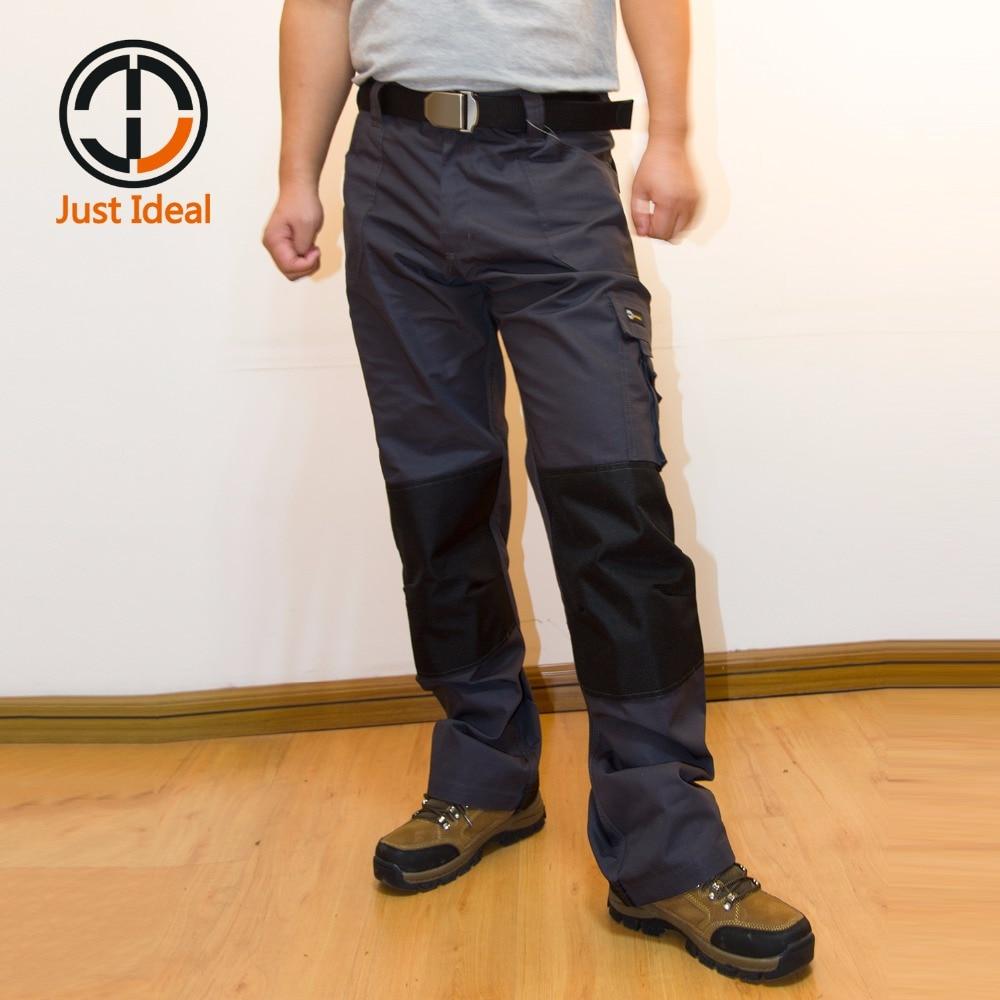Phorecys Mens Fleece Lined Cargo Trouser Combat Workwear Pants with 8 Pocket
