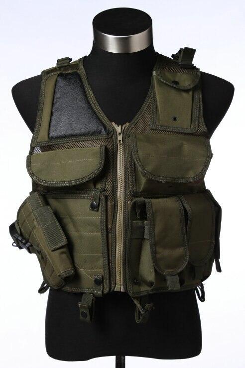 Военный тактический жилет ж/ кобура тяжелая обязанность регулярного быстрый релиз пряжка тактический жилет