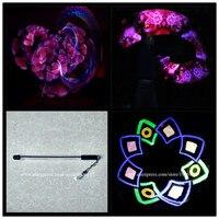 Hot Sale Led Programmable Kunfu Magic Nunchakus 60 Pixels Visual Poi Led USB Sticks
