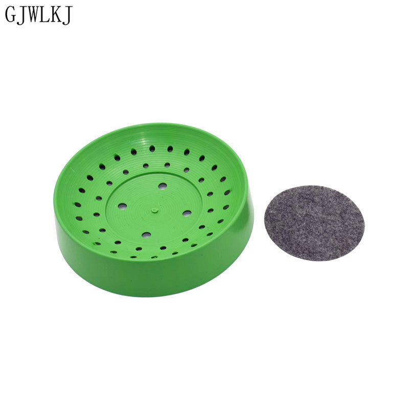 Pigeon Supplies Plastic Dehumi Dification Breeding Bird Egg  Bowl Pad Natural Fiber Grass Bowl Supply Breeding Bowl 10pcs