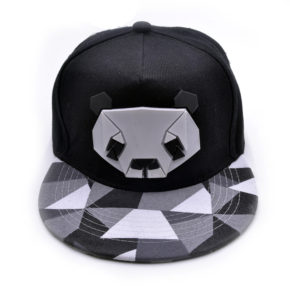 2019 New Summer   Baseball     Cap   cotton   Caps   Panda Snapback Summer Hip Hop Fitted   Cap   Hats For Men Women gorras mujer chapeu