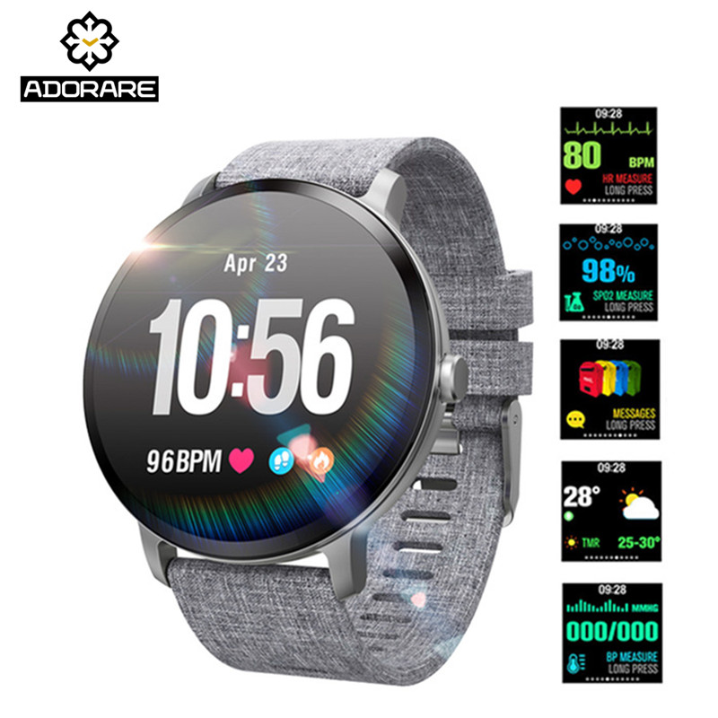 ADORARE Smart Watch V11 IP67 Waterproof Heart Rate Monitor Fitness Tracker Smart Bracelet Alarm Pedometer Men Women Wristband colmi v11 smart watch ip67 waterproof tempered glass activity fitness tracker heart rate monitor brim men women smartwatch