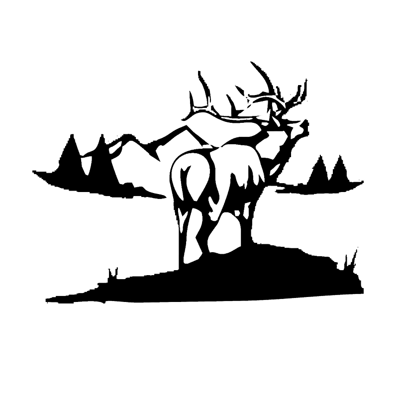 Online Get Cheap Hunting Decals For Trucks Aliexpresscom - Hunting decals for trucks