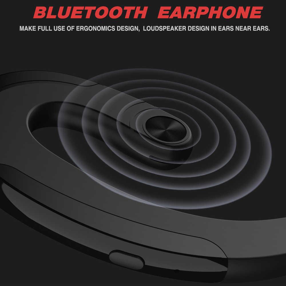 Беспроводные наушники Bluetooth наушники Handsfree костная проводимость наушники с микрофоном наушники спортивная Гарнитура для Xiaomi LG Iphone