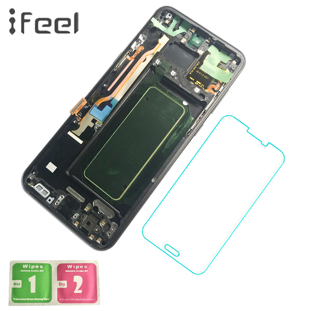 IFEEL Super Amoled LCD pour SAMSUNG Galaxy S8 Plus Affichage G955 G955F LCD Display + Écran Tactile Cadre S8 Plus LCD Écran