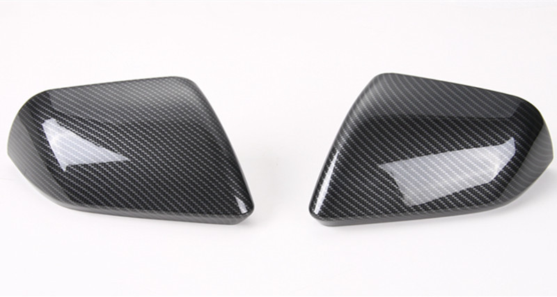 2* Carbon Fiber Color ABS Car Rearview Mirror Cover Frame Trim Fit For Ford Mustang 2015 -2017 LHD Car Styling Accessories New2* Carbon Fiber Color ABS Car Rearview Mirror Cover Frame Trim Fit For Ford Mustang 2015 -2017 LHD Car Styling Accessories New