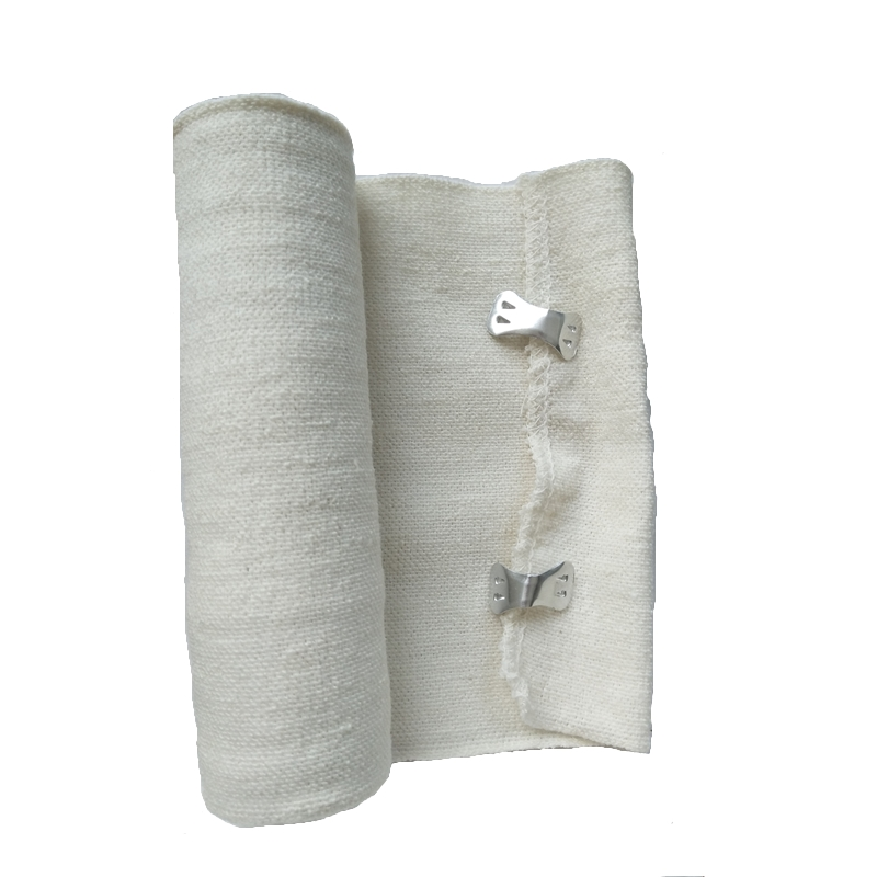 1 Roll Spandex Cotton Bandage Hook Closure Elastic Bandages Sport Stovepipe Postpartum Slimming First Aid Treatment Bandage