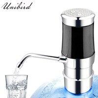 Unibird bomba de água recarregável elétrica para garrafas de água potável sem fio automático dispensador de água da torneira aço inoxidável|Acessórios de caneca e garrafa de água|   -