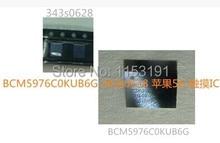 2 пар/лот для iphone 5 5 Г сенсорный экран управления дигитайзер ic 343s0628 U14 и U12 BCM5976C0KUB6G BCM5976