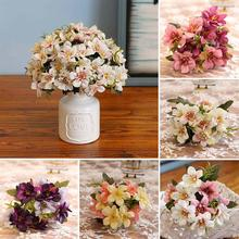 1 Bouquet Beautiful Artificial Plastic Flower Fake Plant