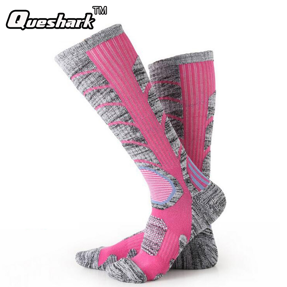 Winter Warm Men Women Thermal Ski Socks Thick Cotton Sports Snowboard Cycling Skiing Soccer Socks Leg Warmers Long Socks one set winter thick socks