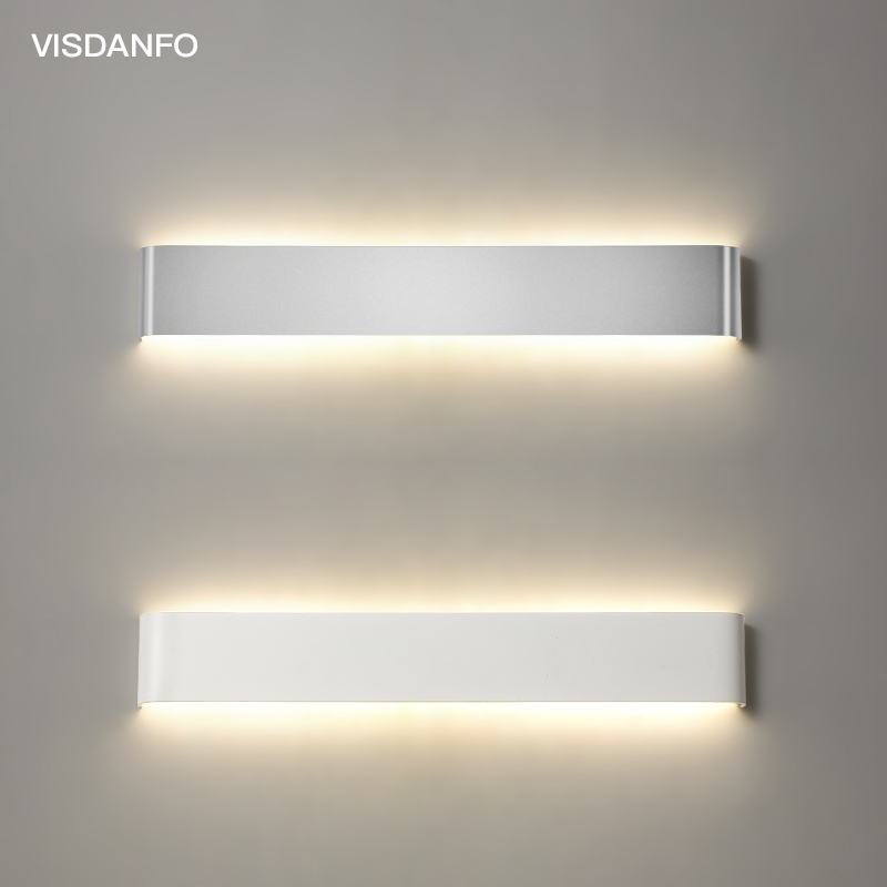 Modern Led Wall Lamp Minimalist Indoor Light Fixture Wall Sconce Stair  Bedroom Bedside Living Room Home Hallway LightingModern Led Wall Lamp Minimalist Indoor Light Fixture Wall Sconce Stair  Bedroom Bedside Living Room Home Hallway Lighting
