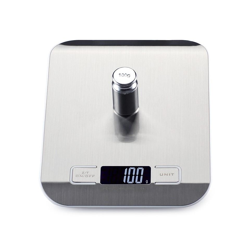 10 kg x 1g Balances Électroniques Cuisine Numérique Bijoux Alimentaire Échelles Smart LCD Mi Balances en acier inoxydable