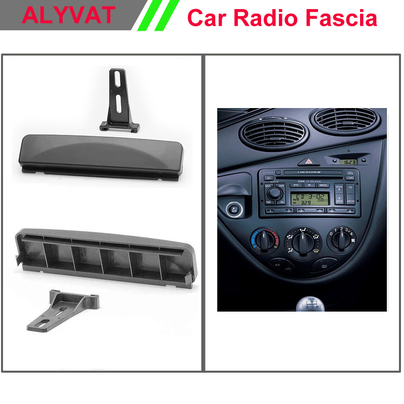 Top Quality Car Stereo Dash Kit Radio Cd Player Install Mount For FORD Fiesta,Focus,Mondeo/GEELY Otaka/JAGUAR 1-DIN