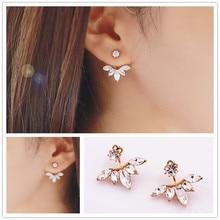 New fashion jewelry rhinestone clip stud gift for women girl E2876