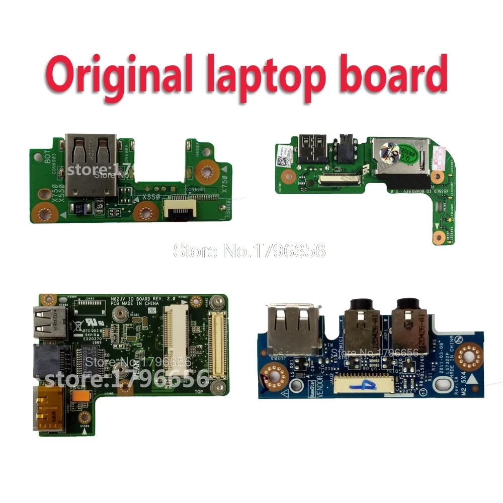 Pour asus X555 X555L K555L A555L X555LJ X555LN X555LD K53S K53SV K53SD A53S P53S X53S X43E P43E K43Sv K43SD USB AUDIO IO conseil
