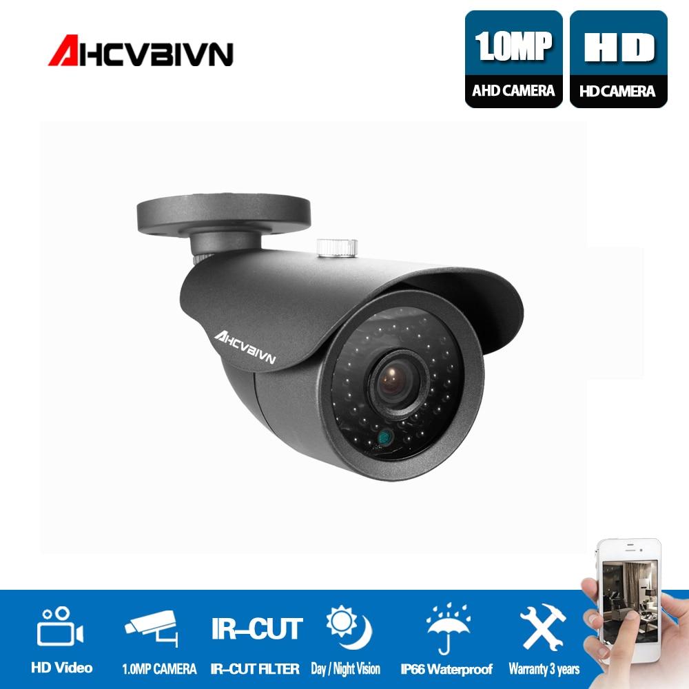 1MP AHD Camera Security Video Surveillance Indoor Outdoor Bullet Camera Waterproof HD CCTV Camera 720P Day Night Vision цены