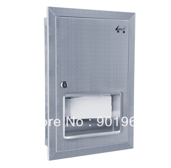 Hot sell stainless steel hotel -napkin dispenser-paper dispenser-tissue dispenser